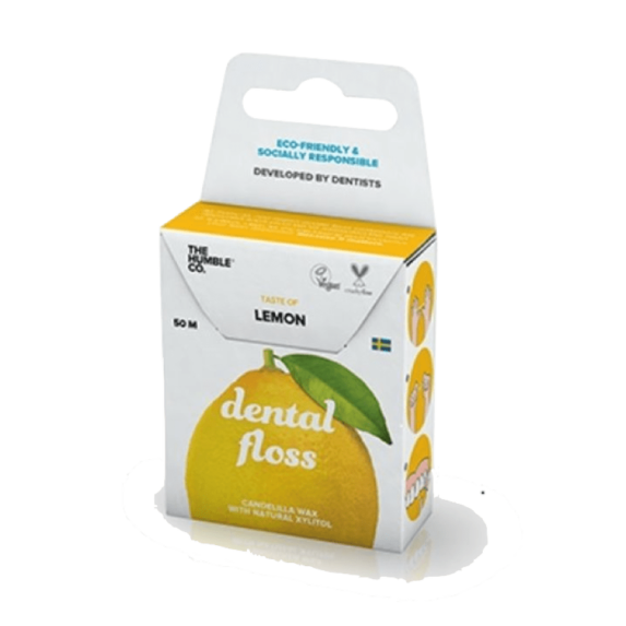 Dental Floss Lemon - Fairtrade en Zero Waste