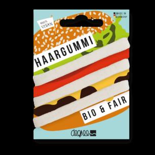 Haarelastiekjes Bio Haargummi Fairtrade - Ecru
