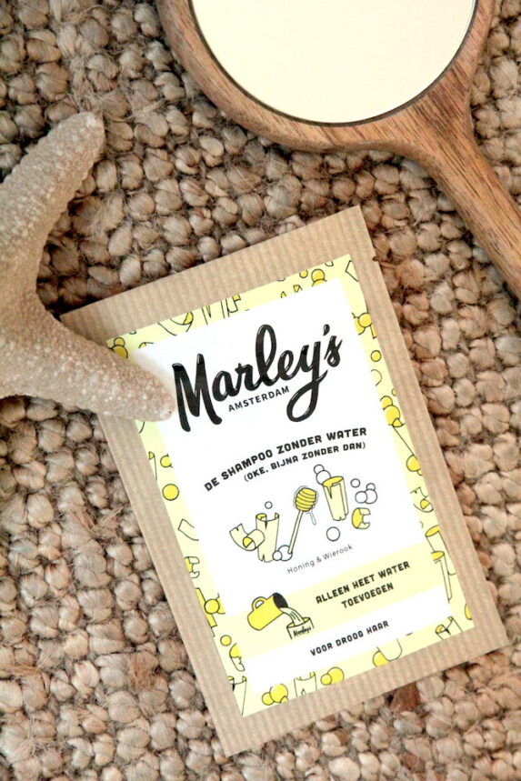 Shampoovlokken Honing Wierook Droog Haar (sfeer) - Marley's