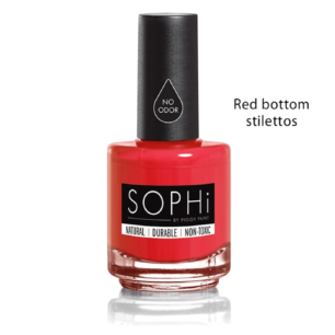 Natuurlijke Eco Nagellak Sophi - Red Bottom Stilettos