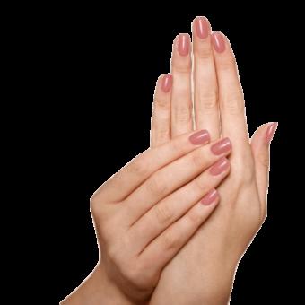 Natuurlijke Eco Nagellak Sophi - Romance Me (handen)