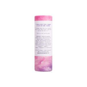 Deodorant Stick Lovely Lavender (back) - We Love The Planet