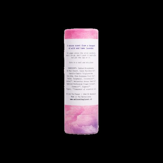 Deodorant Stick Lovely Lavender (back) - We Love The Planet