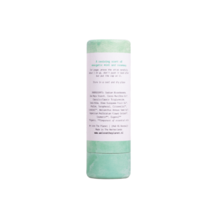 Deodorant Stick Mighty Mint (back) - We Love The Planet