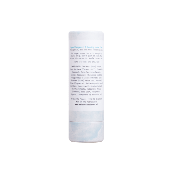 Deodorant Stick So Sensitive (back) - We Love The Planet