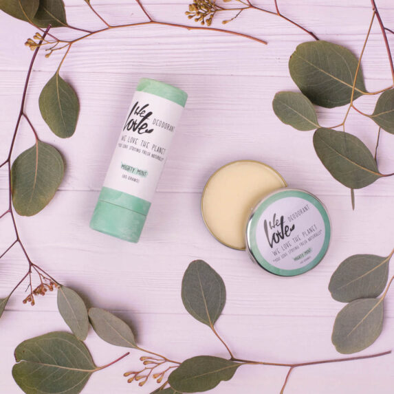 Deodorant Stick Mighty Mint (sfeer) - We Love The Planet