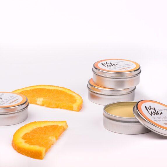 Natuurlijke Deodorant Blikje Original Orange (sfeer) - We Love The Planet
