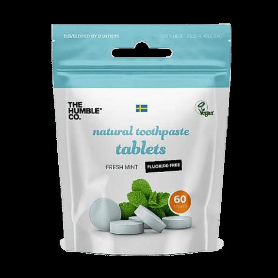 Natuurlijke Tandpasta Tabletten zonder Fluoride