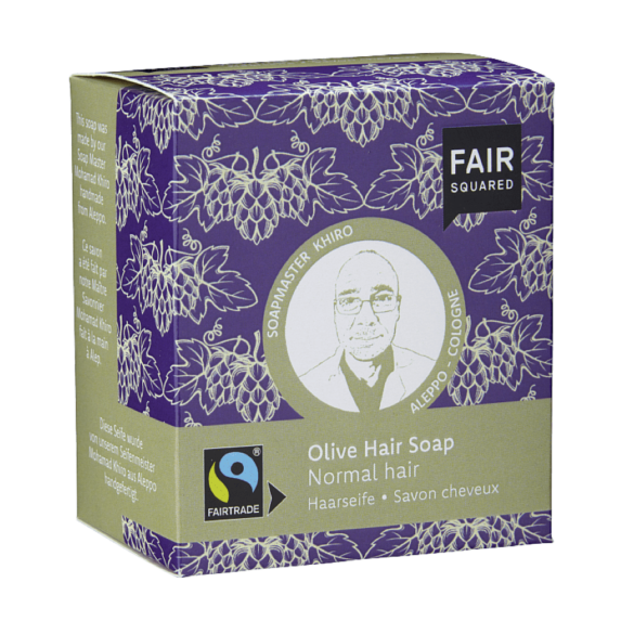 Shampoo Bar Olijfolie - Fairtrade & Zero Waste