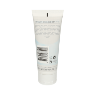 Handcreme Artic White (back) - We Love The Planet