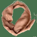 Natuurlijk Linnen Haarband – Nude