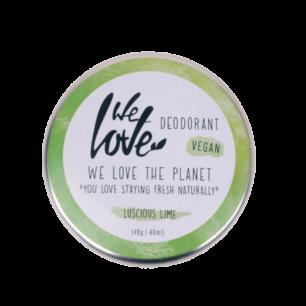 Natuurlijke Deodorant Vegan Lusious Lime blikje - We Love the Planet