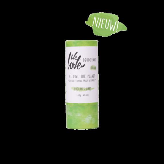 Natuurlijke Deodorant Vegan Lusious Lime stick - We Love the Planet