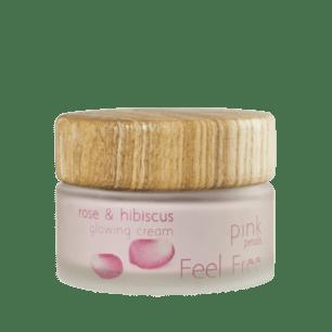 Roos en Hibiscus Glowing Crème 50ml - Feel Free