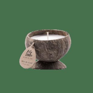 Kokossnoot Geurkaars Darjeeling Delight - We Love The Planet