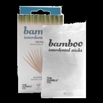 Bamboe Tandenstokers - Fairtrade en Zero Waste