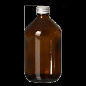 Herbruikbaar glazen bewaarflesje (500ml) DIY - Fair Squared