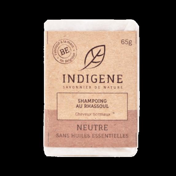 Shampoo Bar Rhassoul Neutraal 65gr - Indigene