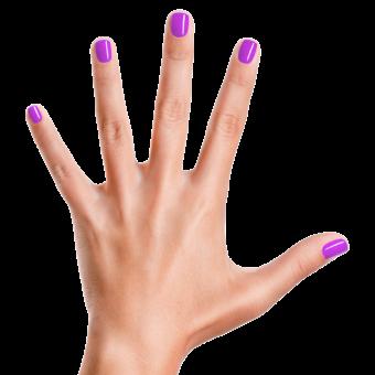 Groovy Grape - Piggy Paint (nagels)